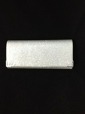 Lovely Silver Glitter Clutch Bag  Clasp, Detachable Strap Code:hbslv04