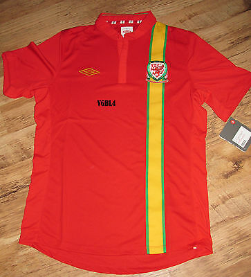Wales Home Short Seeve Football Jersey / Top - 2012-2013 BNWT -Bargain Price.
