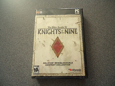 The Elder Scrolls IV: Knights of the Nine  Thick DVD Case  WIN XP/2000  NEW