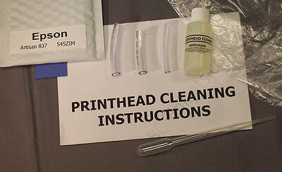 Epson Artisan 837 Printhead Cleaning Kit (Everything Included) 545ZIM