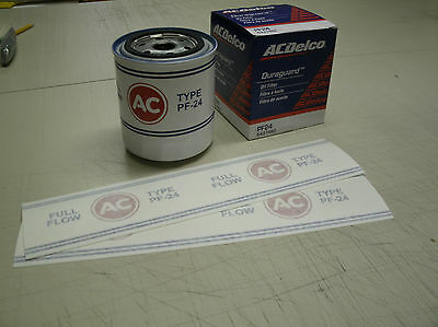 Pf-25 Ac Oil Filter Decal