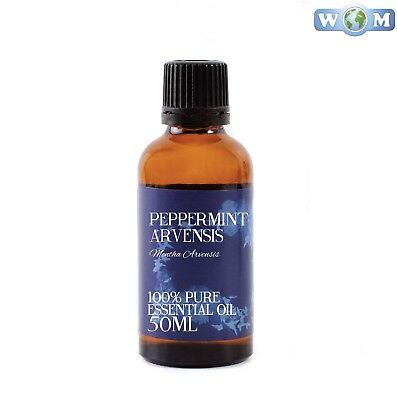 Peppermint Arvensis Essential Oil 50ml 100% Pure (EO50PEPPARVE)