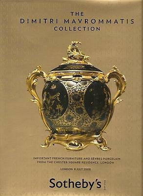 Sotheby's The Dimitri Mavrommatis Collection HC Auction Catalog 2008