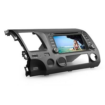 "2Din 7"" Car DVD Player GPS Navigation For 2007 2008 2009 2010 2011 Honda Civic"