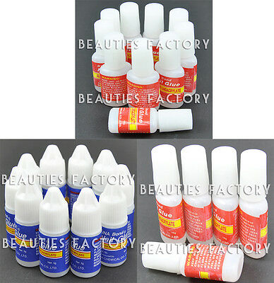 The Edge Nail Tip Adhesive Glue Strong False Nail Acrylic False Tips Nail Art