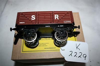 New Basset-Lowke  Plank Coal Wagon Strait From The Factory [K2229]