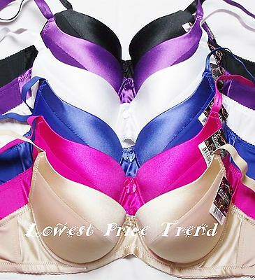 Lot of 6 pcs Push-Up Bras Available Size 36DD 38DD 40DD  New BR9072P