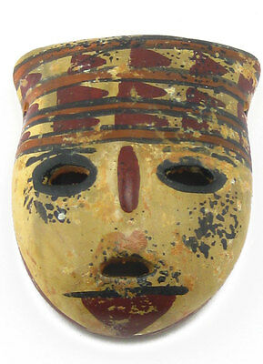 ACROSS THE PUDDLE Pre-Columbian San Agustin Headdress Mask (S) Reproduction