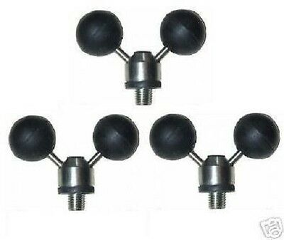 Wholesale Stainless Steel ball Rests for Carp/Pike Fishing x 20