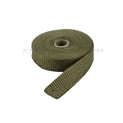 Other Auto Performance Exhaust Vulcan Silver Colored Thermo Header Exhaust Wrap 1 X 50 Roll Made In USA