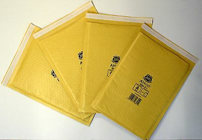 50x Jiffy Bubble Bags Envelopes Mailers J00 115x195mm