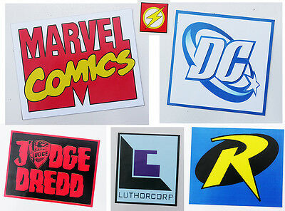 Comic Company Logo Movie / TV FRIDGE MAGNET COLLECTION - DC, 2000AD... - NEW