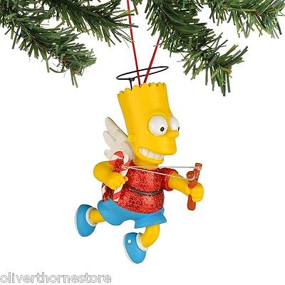 Department Dept 56, The Simpsons Christmas, Bart the Angel Ornament NEW