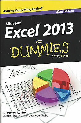 Excel 2013 for Dummies - MS Office Training - Mini Edition (Paperback) - New