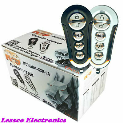 K9 by Omega: Mundial SSR-LA Deluxe Car Alarm Security System