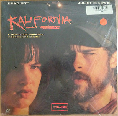 Kalifornia - Unrated Widescreen   LASERDISC  buy 6 for free shipping