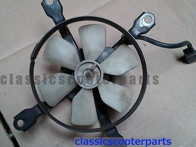 Kawasaki 1987 EL250 Eliminator radiator cooling fan k87-EL250-063