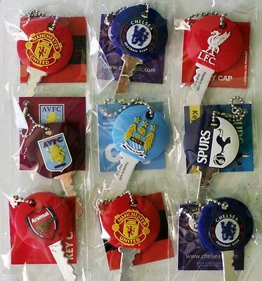 Official Rubber Key Cap English Barclays Premier League Football Soccer Clubs