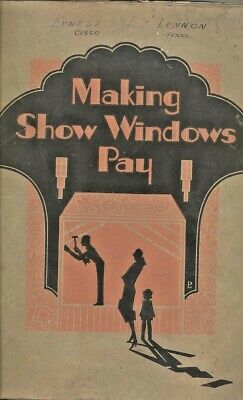 1928 Huge ART DECO CATALOG SHOW WINDOW DISPLAY ADVERTISING SHOW CARDS DESIGN