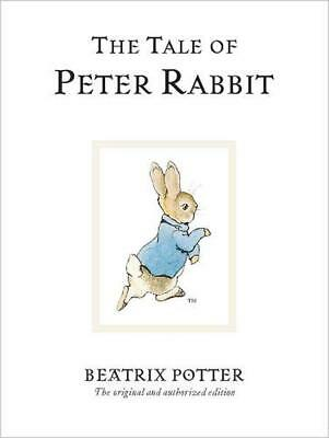 The Tale of Peter Rabbit by Beatrix Potter Hardcover Book (English)
