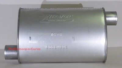 "14/"" Body Full Boar Performance Turbo Muffler O//C  2.5/"""