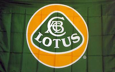 3'X 5' LOTUS AUTOMOTIVE polyester flag w/ grommets. Banner Sign Display