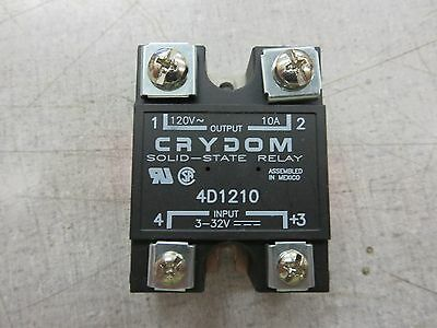 Crydom 4D1210 Solid State Relay (120VAC, 10A, 3-32VDC)