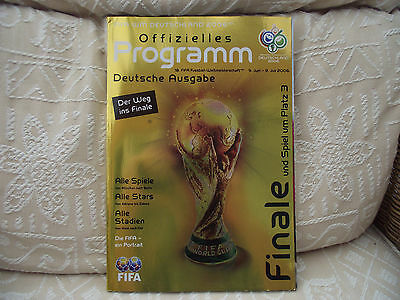 FIFA  World Cup Germany 2006 Tournament Programme