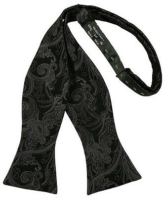 Tapestry Paisley Silk Tie Your Self Tuxedo Bow Tie in Four Colors