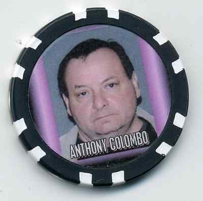 Anthony Colombo  Gangster  Collector Chip