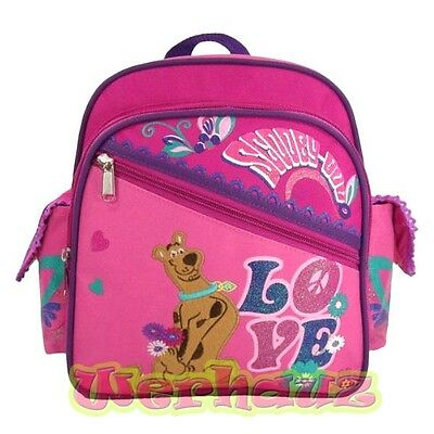 "Scooby Doo 10"" Backpack Toddler Girls Pink, NEW"