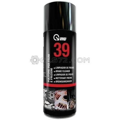 Bomboletta Spray Pulitore Freni E Frizioni 400 Ml Vmd 39