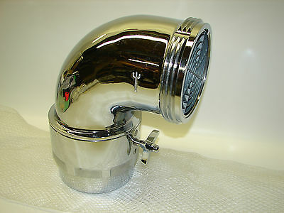 """*NEW* Trident 5.0"""" F NPT x 5.0"""" M NH Front Suction Elbow 01.014.0 Fire Truck"""