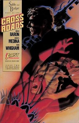 Sable and Badger Meet at the Cross Roads by Mike Baron Vol 1 No 2 (Comic, 1988)