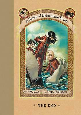 The End: A Series of Unfortunate Events by Lemony Snicket (English) Hardcover Bo