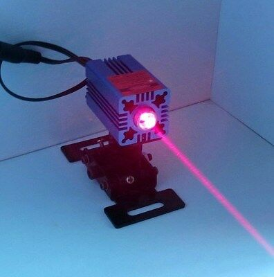 650nm 200mw Focusable red Dot module/Red Laser with PSU Gift goggle