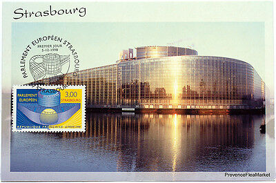 CPA  MAXIMUM POSTCARD PARLEMENT EUROPEEN   Yt3206