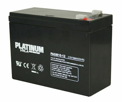 12V 10AH Mobility Battery Pihsiang 109101-77300-10P Equivalent