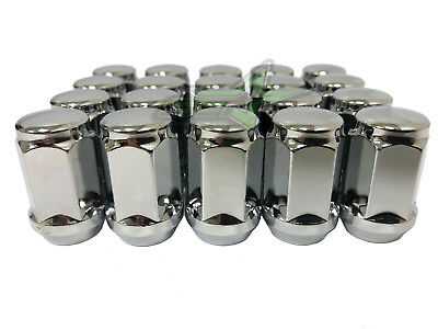 "20pc 1.4/"" Tall Steel Close End Wheel Lug Nuts 12x1.5 for Toyota Honda Ford Chevy"