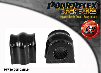 Subaru Forester SG (02-08) Powerflex Black Front ARB Bushes PFF69-205-23BLK