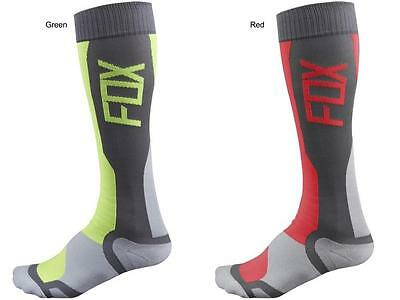 Fox Racing MX Tech Riding Performance Socks S/M or L/XL Motocross ATV Off-Road