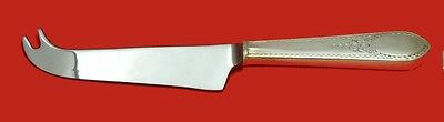 Early American Engraved by Lunt Sterling Silver Cheese Knife w/Pick Custom HHWS