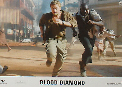 BLOOD DIAMOND - Lobby Cards Set - Leonardo DiCaprio, Jennifer Connelly
