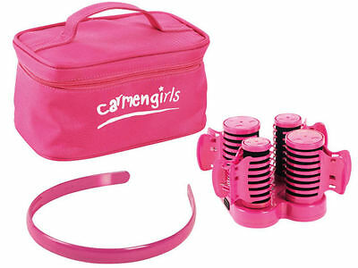 Carmen Girls Professional Electric Heated Hair Roller Curlers Gift Set C85005