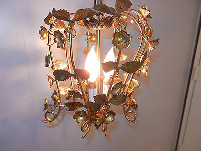 Solid Brass Antique Hanging Light Fixture Lamp
