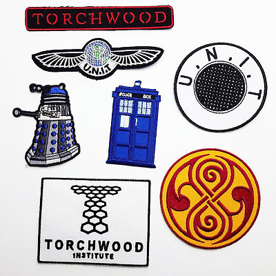 """THE DOCTOR"" - PATCH COLLECTION, Time - Lords - Agents ... NEW WHO"