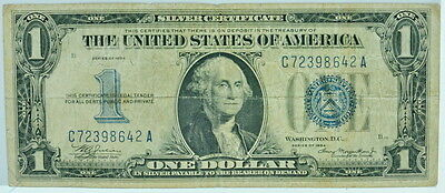 1934 United States Silver Certificate $1 Blue Stamp P25718