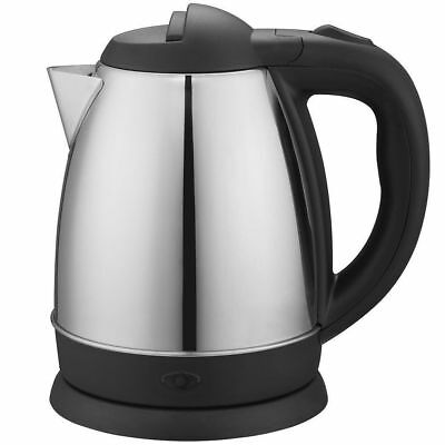 Maxim 0.9L Stainless Steel Electric Cordless Kettle 1500W 360 Dock Station Jug