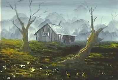 How to Paint Landscapes - The Shack in the Woods
