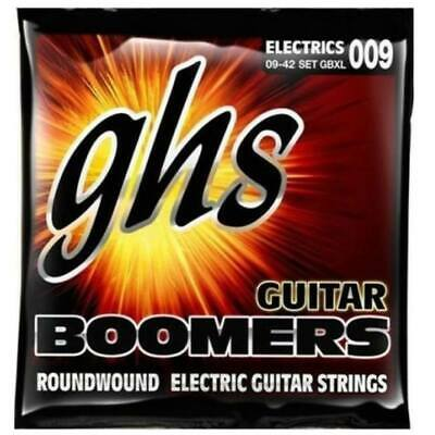 GHS String Set GBXL Boomers Extra Light 009 Electric Guitar Strings 9 - 42 new